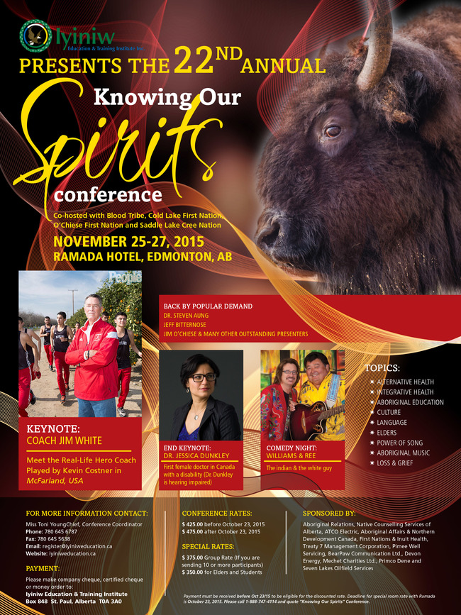 Knowing Our Spirit Conference 2015